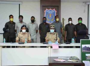 Rachkonda police nab 8 for selling adulterated coal