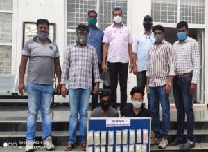 Rachkonda police arrest 2 men involved in 15 burglaries