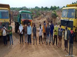 Red soil and gravel mafia busted by Rachakonda Police
