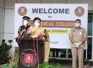 Donate plasma to help Covid patients in early infection stage: Governor Tamilisai Soundararajan