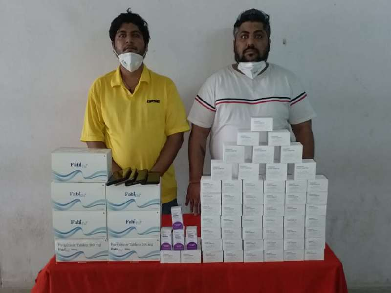 Two men illegally selling anti-viral drugs used for COVID patients, arrested