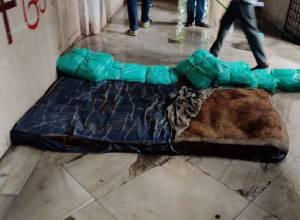 Rainwater floods Hyderabad's Osmania General Hospital