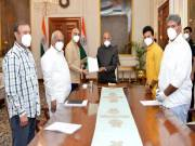 TDP submits representation to President on 'failing democracy' in AP