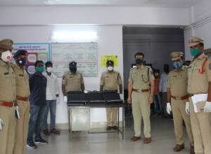 Meerpet police arrest  man with 43 stolen laptops worth Rs. 6.5 lakh