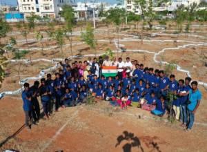 Asst. Prof. to develop 33-district botanical garden resembling Telangana map