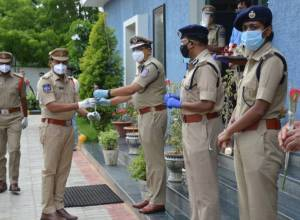45 Rachakonda cops join duty after recovering from COVID-19