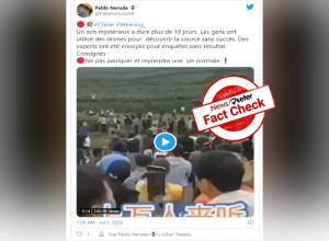 Fact Check: Videos claiming growls of mysterious creature heard in China's Xiushui were doctored