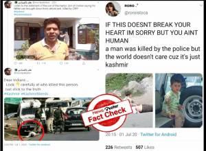 Fact Check: Claims that CRPF shot, killed civilian in Kashmir is false