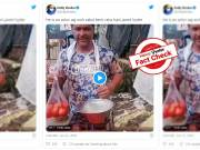 Fact Check: Dabangg-3 fame Javed Hyder is not selling vegetables for living, due to lockdown