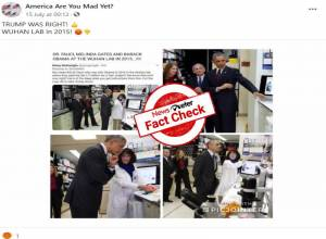 Fact Check: Obama, Dr Fauci did not visit Wuhan lab in 2015