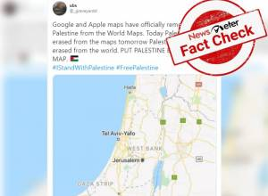 Fact Check: Has Google removed Palestine from Google Maps?