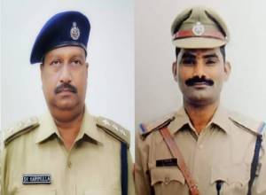 Two South Central Railway cops who saved lives, passenger properties; awarded