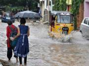 Heavy rains to lash Telangana for next two days