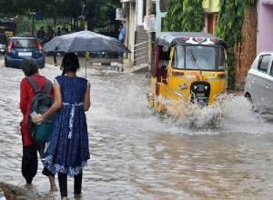 Telangana to experience heavy rains, thunderstorms for next four days