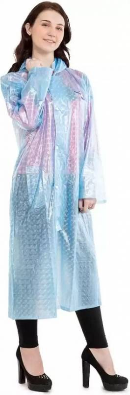 Burdy See Through Raincoat For Women