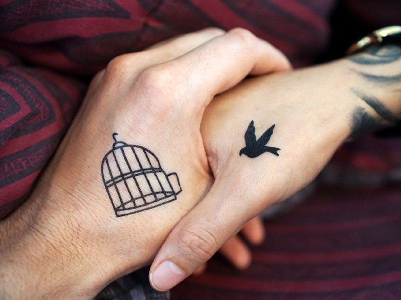 10 Matching Couple Tattoo Ideas To Declare Your Love