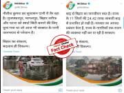 Fact Check: Congress posts unrelated images and claims them to be of Bihar Floods are False and Misleading.