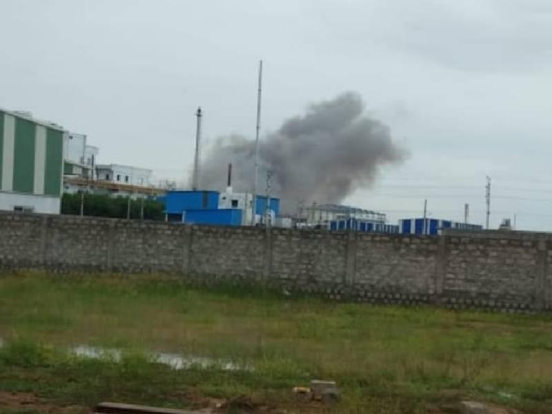 Explosion at Vijayasri Pharma in Vizag causes panic; no casualties