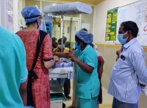 Vizianagaram: New mother arrested for dumping baby boy in bushes