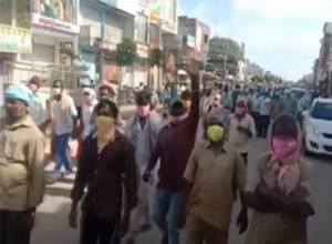 Sanitation workers in Gajwel protest after 9 COVID-positive workers taken to hospital in tractor
