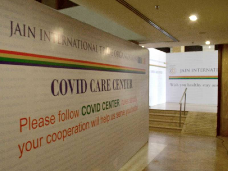 Humanity is our religion: Hyderabad's Jains set up 100 bed Covid Care Center at Chiraan Fort Club