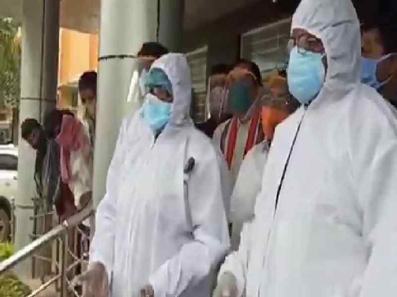 MLA Seethakka visits Bhadrachalam hospital demands free treatment to poor
