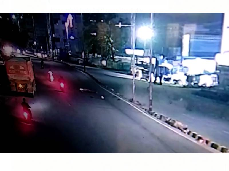 Tragic: 2 youths killed after overspeeding bike rams into electric pole at Mailardevpally
