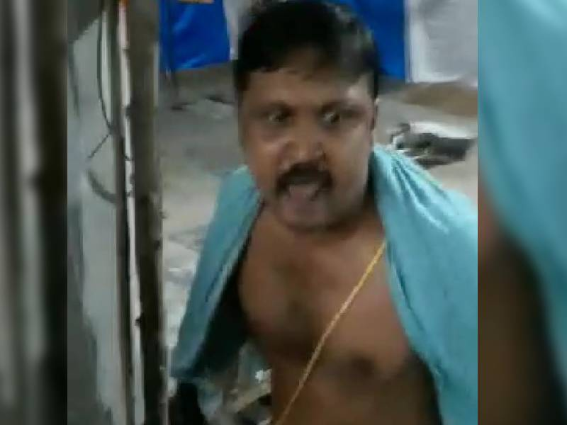 Ex-army man opens fire during Ganesh immersion at Narsingi, detained