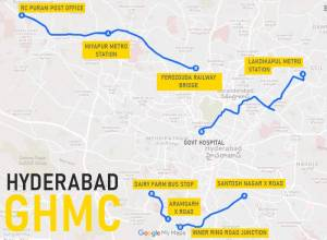 In Pictures: Hyderabad's five most dangerous roads for pedestrians
