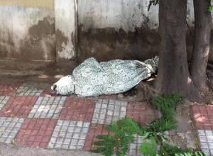 Old woman's body found wrapped in cloth at Banjara Hills