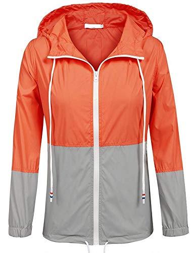 Romano Women's Hooded Rain Jacket