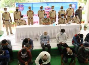 Hyderabad police arrest 3 gangs involved in stealing 77 bikes