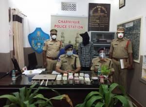 Charminar police nab burglar, recover Rs. 31 Lakh cash