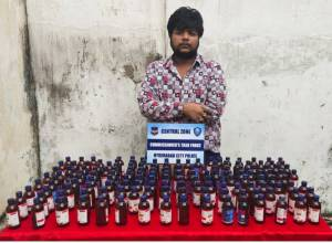 Hyd cops arrest Goshamahal man for illegally selling cough syrup to youth