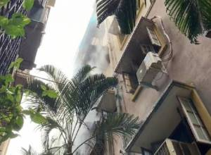 Major fire breaks out in Tulips apartment at Domalguda, no one injured