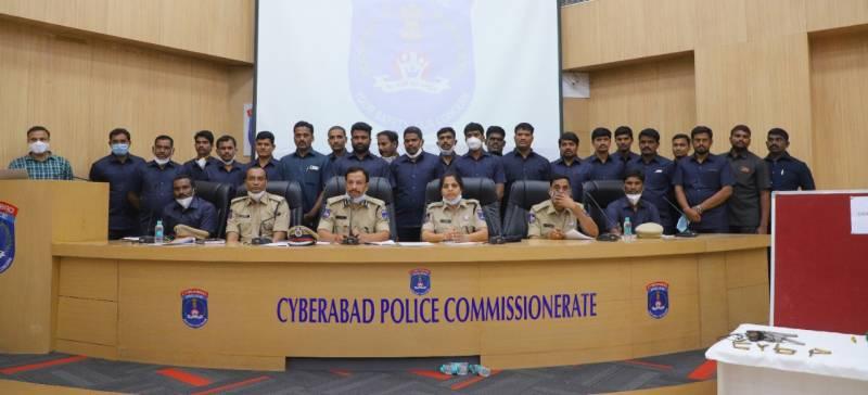 10-member inter-state burglary gang arrested from Jagadgirigutta