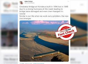 Fact Check: Yes, Choluteca bridge withstood Hurricane Mitch in 1998