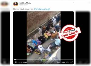 Fact Check: No, women receiving money in old video are not Shaheen Bagh protestors, but victims of Delhi riots