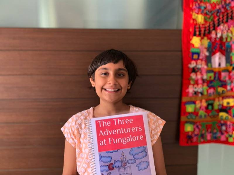 9-yr-old Telugu girl's novel becomes Amazon's bestseller