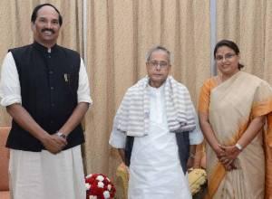TPCC President Uttam Reddy's ode to ex-president Pranab Mukherjee
