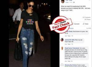 Fact Check: No, Deepika did not wear pro-farmers t-shirt for NCB questioning
