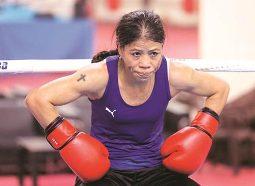 Mary Kom, Boxing