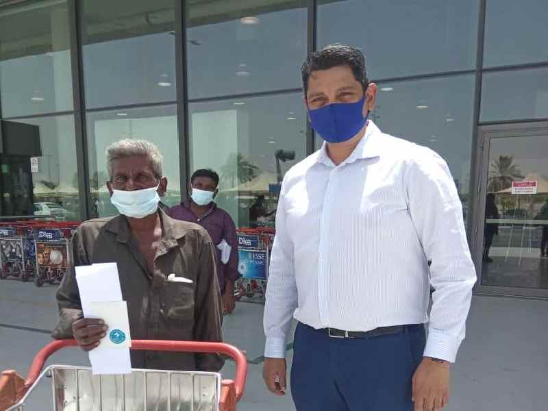 Happy reunion: Stranded Telangana laborer reaches home from Dubai after 16 years
