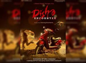 RGV releases first look poster of film Disha Encounter