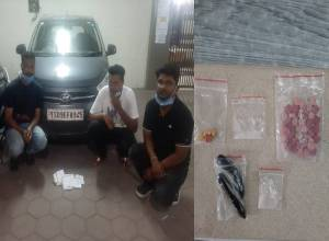 Three youth land from Goa with drugs, get arrested at Ameerpet
