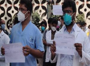 Osmania junior docs launch strike against congested OTs, post-operative ward in new building