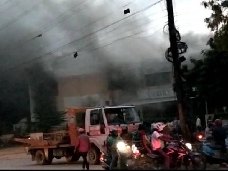 Major fire at Delhi Public School, Bowenpally