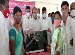 'No student should miss online classes', TRS MP Ranjith Reddy donates 510 TVs