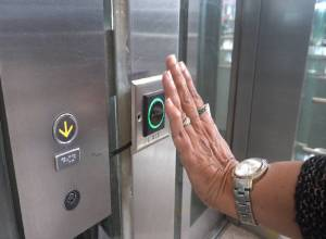 Now touch-less elevators at Hyderabad's International Airport