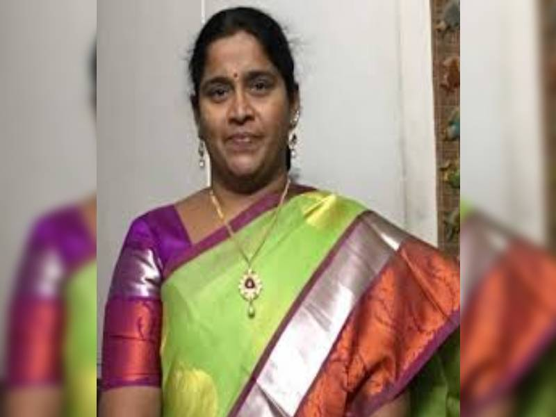 TRS Neredmet corporator K Sridevi and husband in chit fund scam